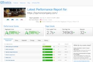 تست سرعت, معرفی ۵ ابزار برتر تست سرعت سایت (Page Speed یا site speed) :, آوید سامانه رایمون