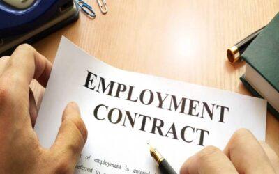 قرارداد کاری و تعریف انواع آن
